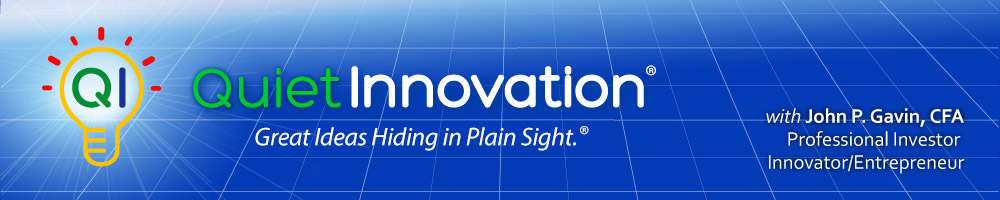 Quiet Innovation ™ header image